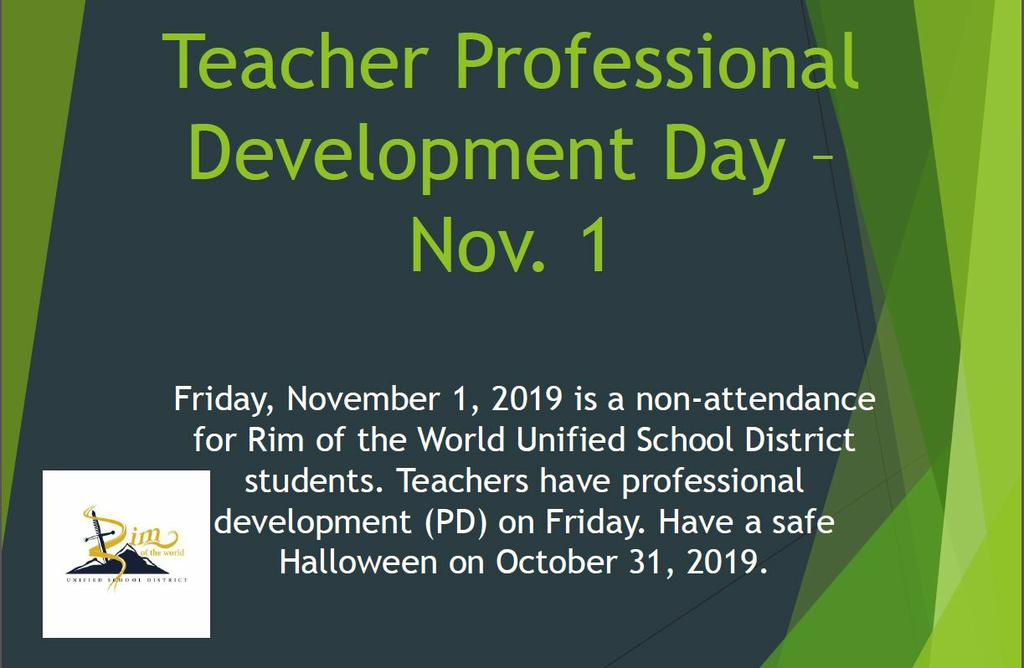 Teacher Professional Development Day