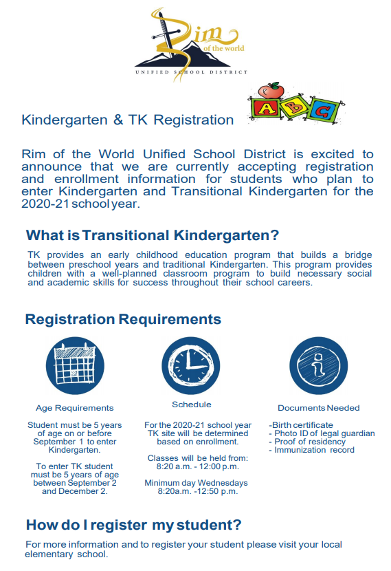 TK-K Registration